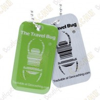 QR Travel bug - Green