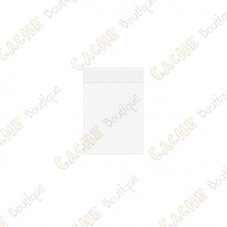 Sachets Zip x10 - 3 x 4 cm