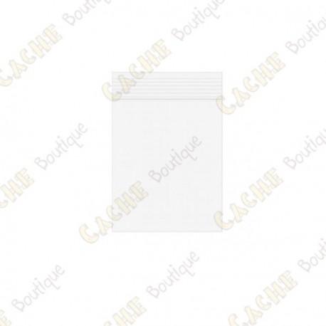 Sachets Zip x10 - 4 x 5 cm