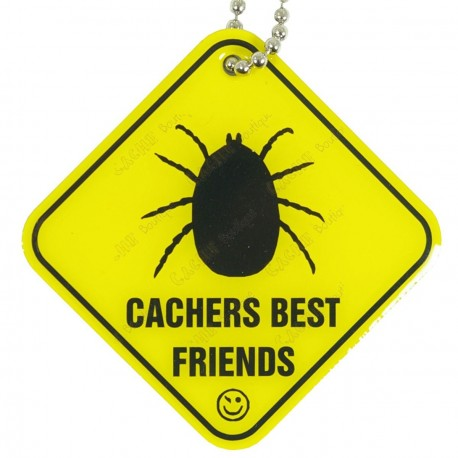 "Traveler ""Cachers Best Friend"" - Tick"