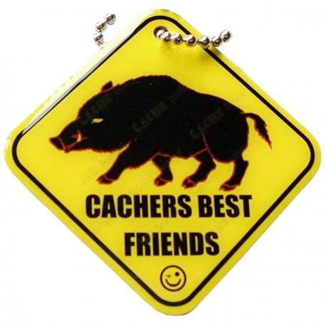 """Traveler """"Cachers Best Friend"""" - Le sanglier"""