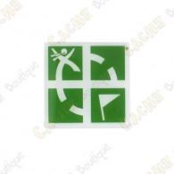 Pin Groundspeak - Verde