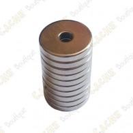 Ímanes neodimios 12x3x2mm - Conjunto de 5