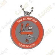 Este geocoin es trackable en   www.geocaching.com   .