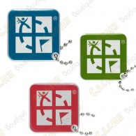 Geocaching logo travel tag - Color pack