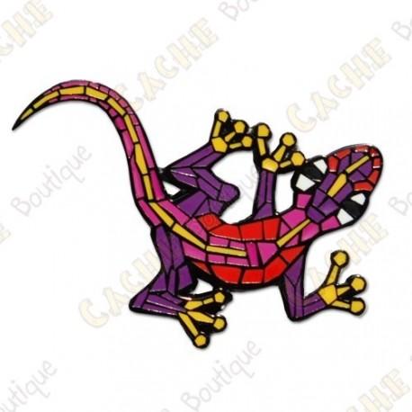 "Géocoin ""Gecko"" v2 - Violet BN"