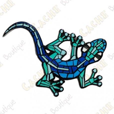 """Géocoin """"Gecko"""" v2 - Aqua BN"""