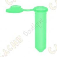 Micro   tubo de   plástico   para   o seu   caches   urbanas   ou   caches   para fazer   o   original.