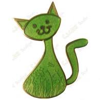 "Geocoin ""CacheCat"" - Merry Cat Edition"