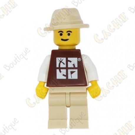 Figura LEGO™ trackable - Sombrero de color arena