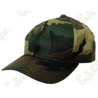 Boné camuflagem - Verde
