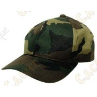 A camouflage cap to go unnoticed to your hunt!