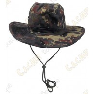 "Chapeau ""Brousse"" - Camouflage Jungle"