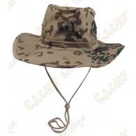"""Chapeau """"Brousse"""" - Camouflage désert"""