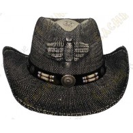 "Hat ""Texas"" - Black / Brown"