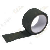Khaki adesive tape to hide your cache containers.