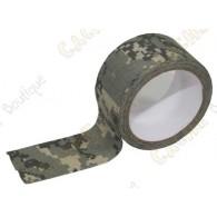 Ahesivo de camuflaje (cualidad tejido) para camuflar sus cache containers.