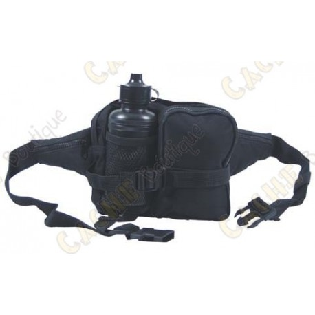 Waist Bag with gourd - Black