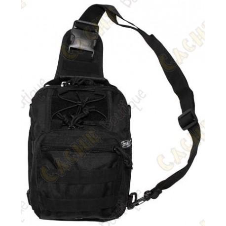 """Bolsa de hombro """"Molle"""" - Negro"""