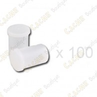 Mega-Pack - Film canister white x 100