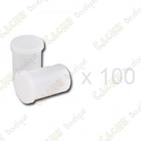 Mega-Pack - Film canister blanco x 100