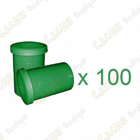 Mega-Pack - Film canister verde x 100