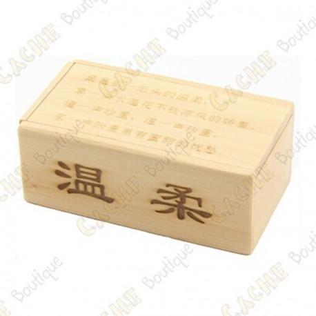 """Wooden cache """"Secret box"""" V2"""