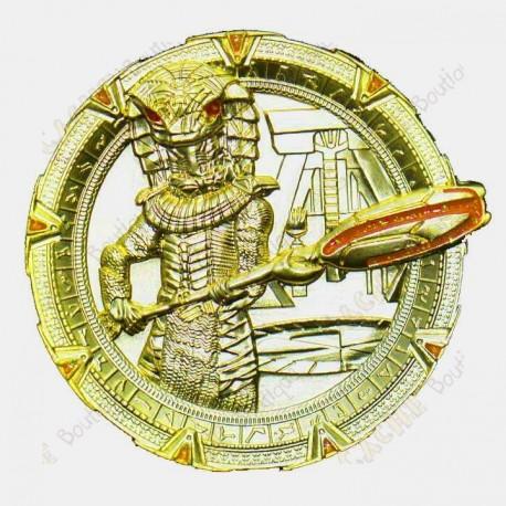 """Geocoin """"Stargate Snake Warrior"""" - SG XLE"""