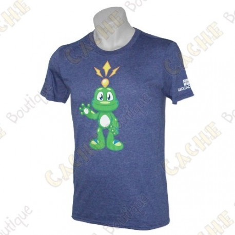 "Camiseta ""Signal the Frog®"" - Azul"