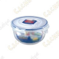 100% airtight box with 4 flaps and a silicone gasket.