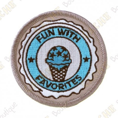 """Patch """"15 years of Geocaching"""""""