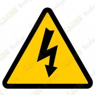 "Cache ""Electric shock risk"""