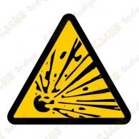 "Cache ""Danger of explosion"""
