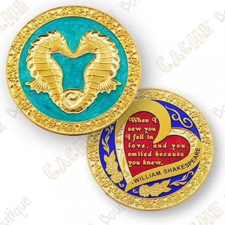 "Geocoin ""Year of the Sheep"""