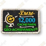 Geo Achievement® 12 000 Finds - Patch