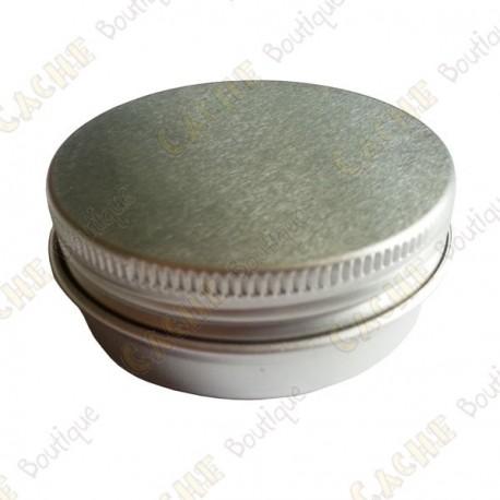 """Cache """"Tin"""" magnética - Círculo 4,5 cm"""