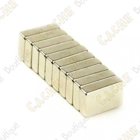 Neodynium magnets 20x4x1mm - Pack of 5