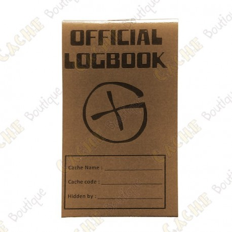 "Pequeno logbook ""Official Logbook"" - Rite in the Rain"