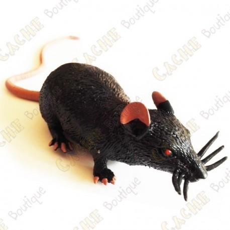"""Cache """"Inseto magnética"""" - Rato preto"""