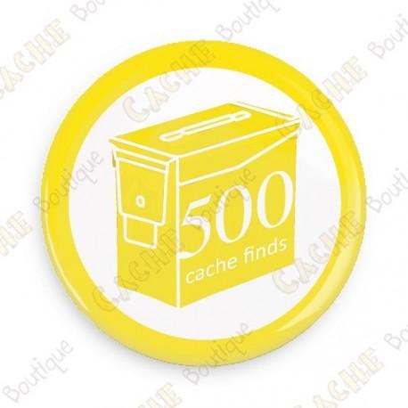 Geo Score Crachá - 500 finds