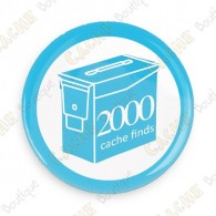 Geo Score Button - 2000 finds