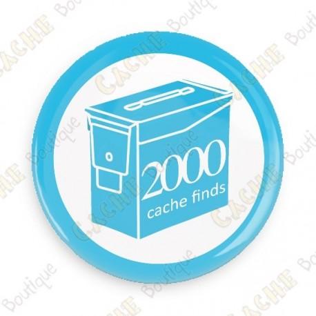 Geo Score Button - 2000 finds