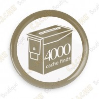 Geo Score Badge - 4000 Finds