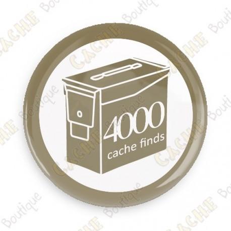 Geo Score Button - 4000 finds