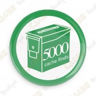 Geo Score Button - 5000 finds
