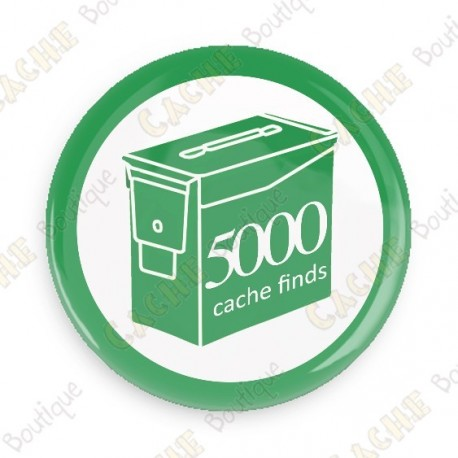 Geo Score Crachá - 5000 finds