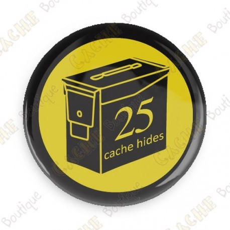 Geo Score Crachá - 25 Hides