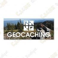 """Imã """"Geocaching"""" acrílico"""