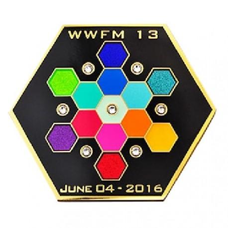"""Geocoin """"WWFM XIII"""""""