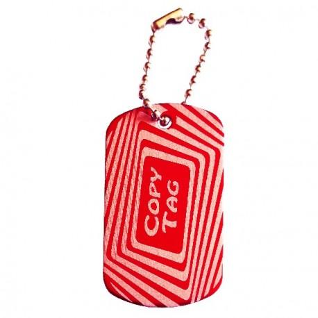 Copy Tag - Double tag - Rojo
